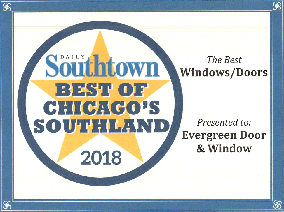 Voted the #1 door & window replacement company in Chicago for the 9th year in a row!