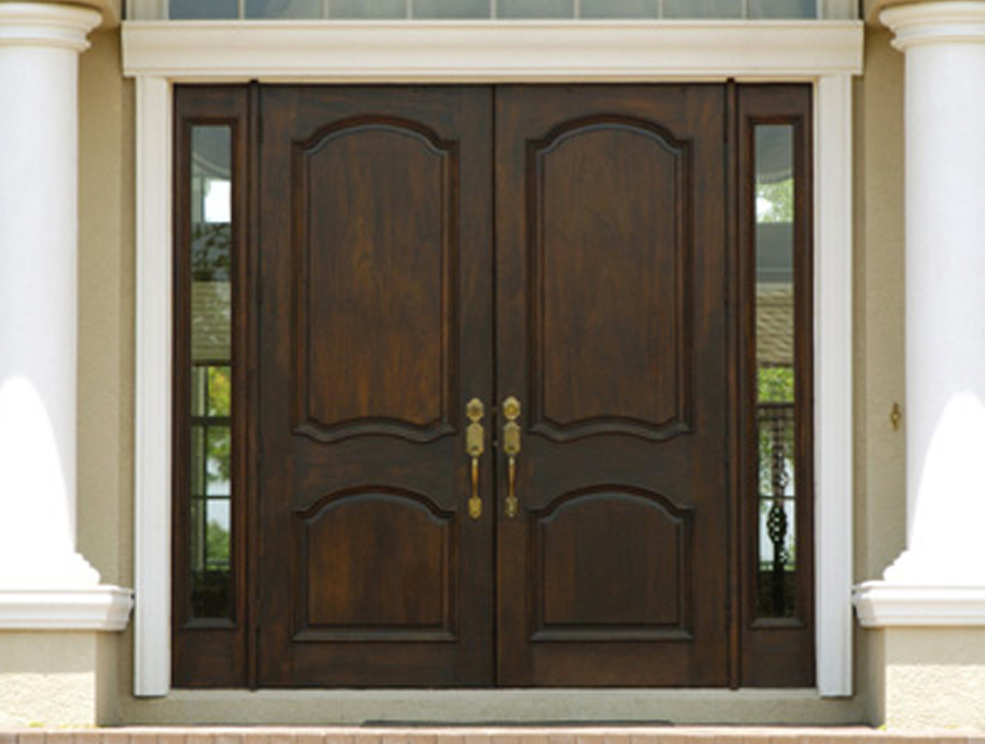 Replacement doors chicagoland chicago door supplier - Mirror opposite front door ...