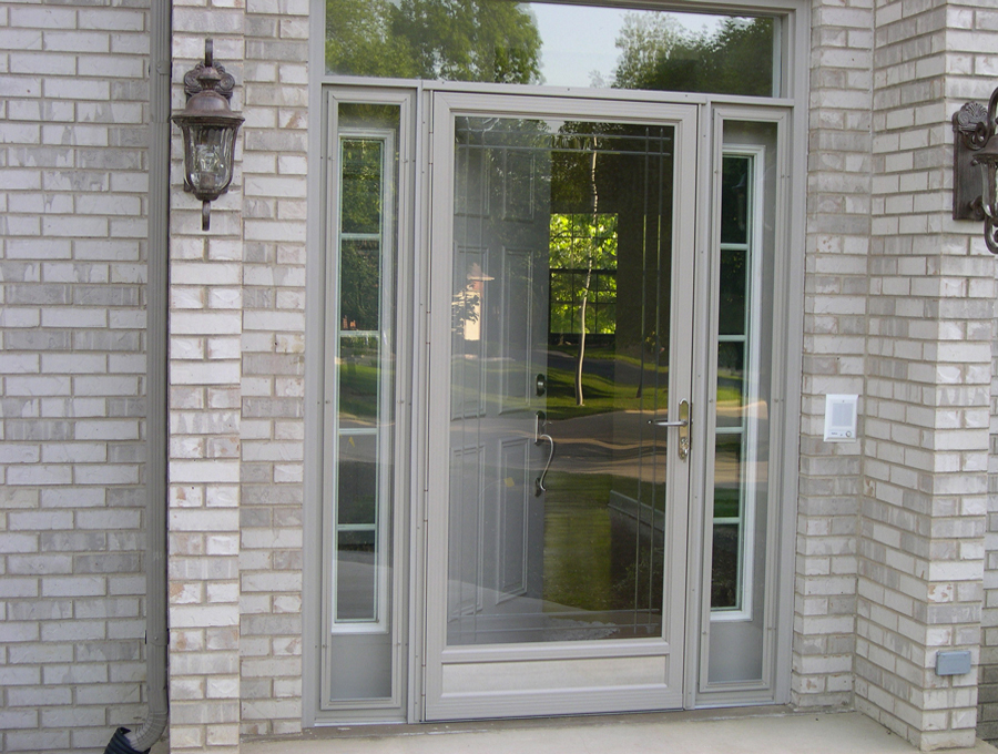 Gray Storm Door 2019 Color Trends